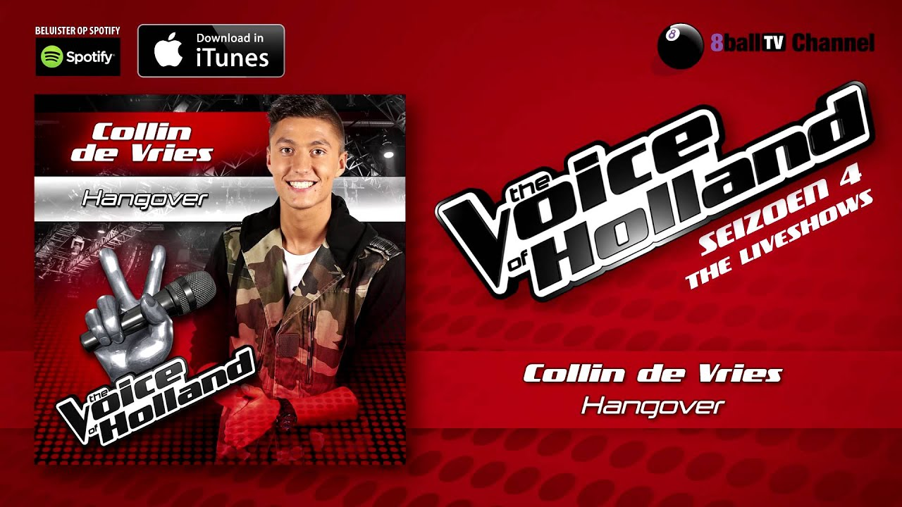 Download Collin de Vries - Hangover (Official Audio Of TVOH 4 Liveshows)