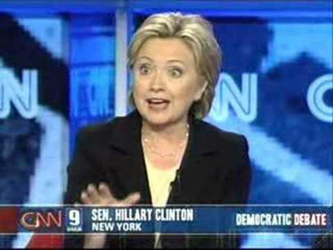 2007 NH Democratic Presidential Debate (Part 19)