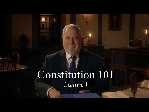 Constitution 101 | Lecture 1