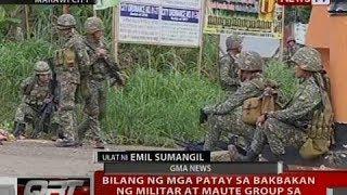 qrt bilang ng mga patay sa bakbakan ng militar at maute group sa marawi city umakyat na sa 98
