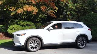 Newly Updated 2019 Mazda CX-9 Overview | 7 Passenger Luxurious SUV | Greater Vancouver, BC