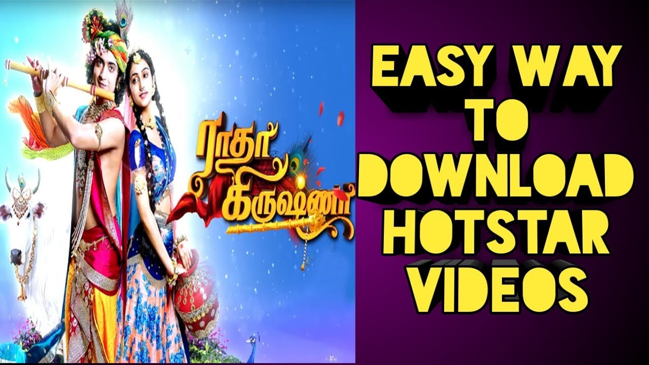 How to solve problem/ download Hotstar Serials in Tamil at Android