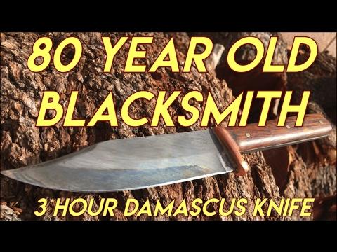 3 Hour Damascus Knife