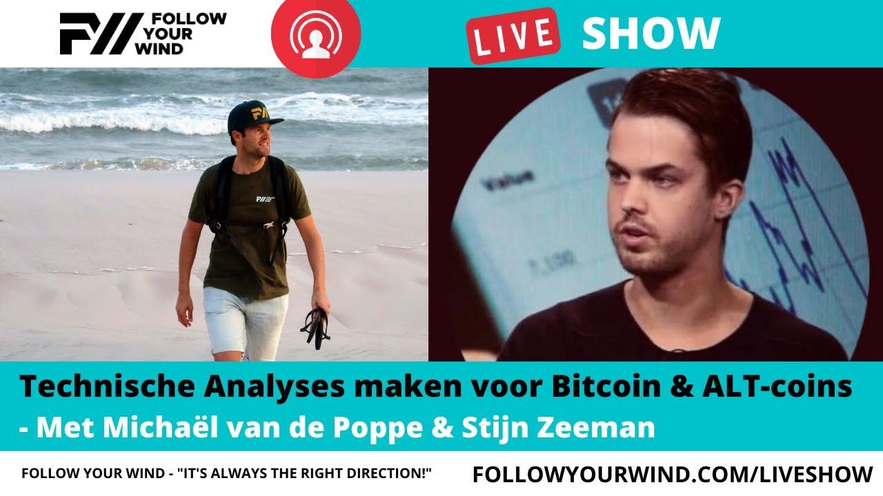 Download Technische Analyses Bitcoin & ALT-coins | Michaël van de Poppe & Stijn | FollowYourWind LIVESHOW #53