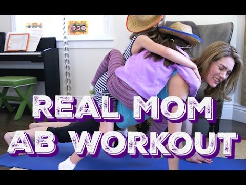 Real Mom Ab Workout from YouTube · Duration:  2 minutes 49 seconds