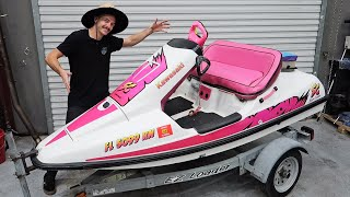 homepage tile video photo for MY NEW JETSKI!