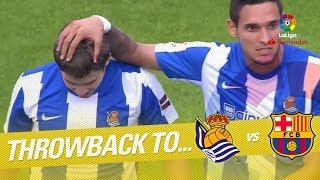 Resumen de Real Sociedad vs FC Barcelona (2-2) 2011/2012