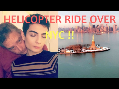 HELICOPTER RIDE WITH MY SUGAR DADDY OVER NYC (VLOG)