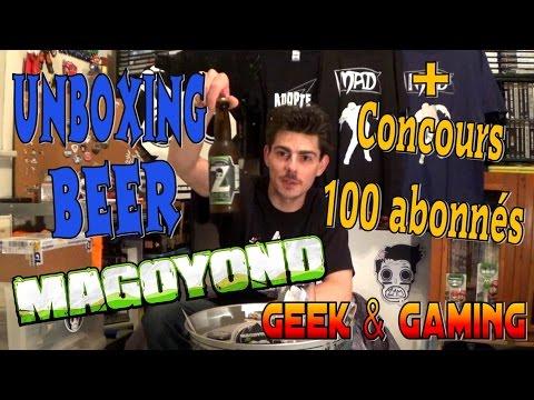 Unboxing & Dégustation Z-Beer Magoyond pour fêter les 100 abonnés