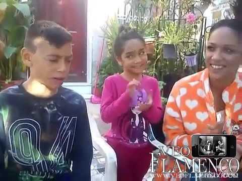 Weryu del programa Got Talent con sus hermanas Coraima y Toñi | VEOFLAMENCO