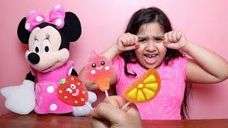 تعلم الألوان مع مصاصات !! أغنية للأطفال ولون مصاصات