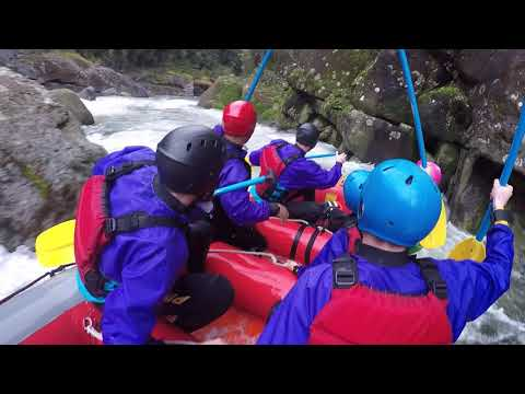 New Zealand Rafting - including highest rated commercially available rapids
