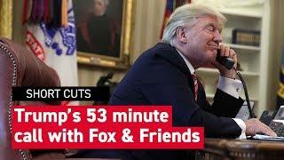 Recap: Trump's call with Fox & Friends | POLITICO