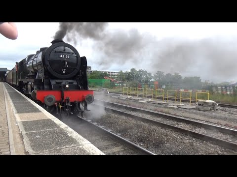 46100 Royal Scot On 'The Dartmouth Express @ Bristol Temple Meads 24/06/17