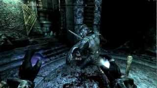 Elder Scrolls V: Skyrim Walkthrough in 1080p, Part 130: Into the Alftand Cathedral (PC Gameplay)