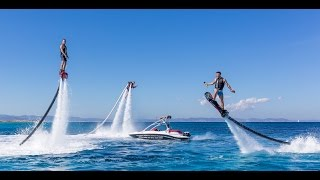 The best watersports video ever! Must watch! Ibiza flyboard hoverboard jetpack seabob