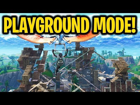 FORTNITE PLAYGROUND CHALLENGES!