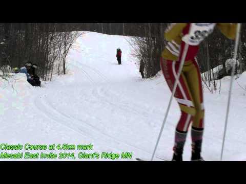 Survey of Nordic Technique at Mesabi Invite 2014 at Giant's Ridge (Biwabik MN)
