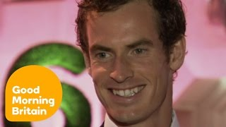 Andy Murray On His Great Year Winning Wimbledon And Becoming A Dad | Good Morning Britain