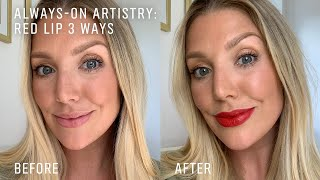 How To: Red Lips 3 Ways with Amy | Makeup Tutorial | Bobbi Brown