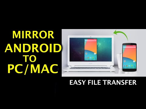 How To Mirror Android Screen To PC/Mac Easily