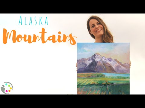 How To Paint a Mountain | Acrylic Painting Tutorial