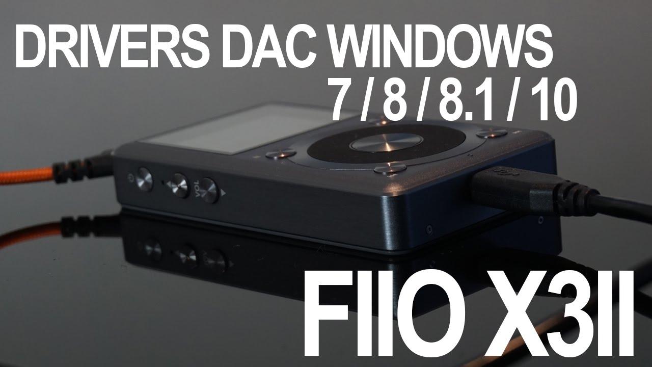 Cómo usar la función DAC en FiiO y Windows 7/8/10