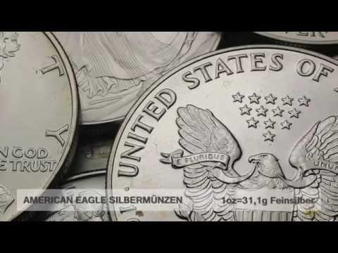 Silbermünze American Eagle (USA)