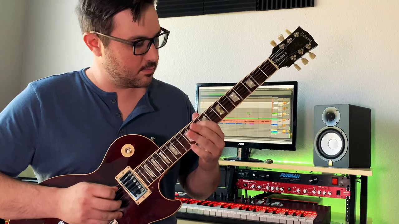 DEATH BATTLE music K.O. Computer guitar play through