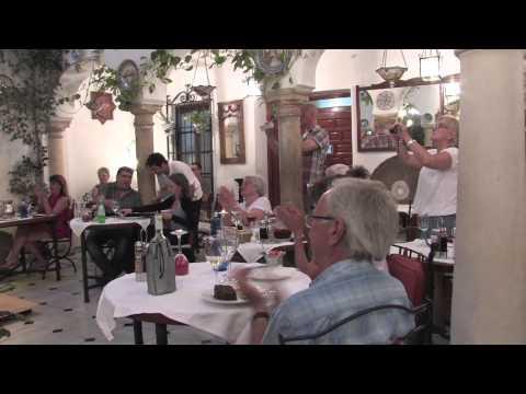Patio de la Judería 2014 artistas 4 Flamenco en Córdoba tablao restaurante