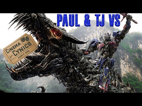 PAUL AND TJ vs. TRANSFORMERS AGE OF EXTINCTION