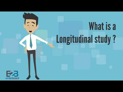 What is a Longitudinal study ?