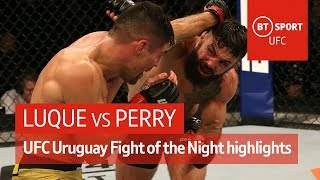 Vicente Luque vs Mike Perry (Fight highlights) | UFC Uruguay