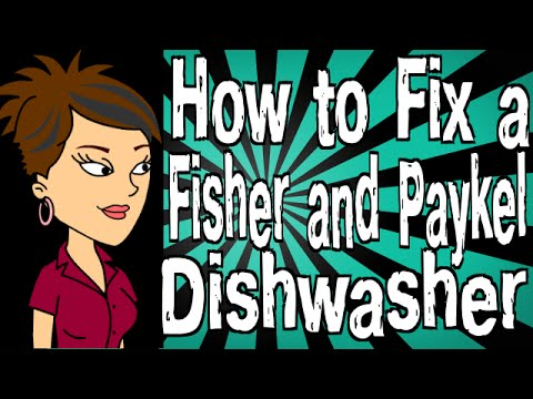 How To Fix A Fisher And Paykel Dishwasher
