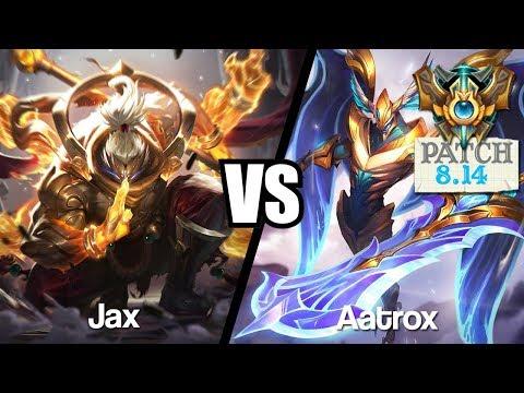 Vidéo d'Alderiate : [FR] ALDERIATE - JAX VS AATROX - 8.14 - CHALLENGER