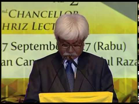 Syarahan Canselor Tuanku Muhriz (27 SEPT.  2017)