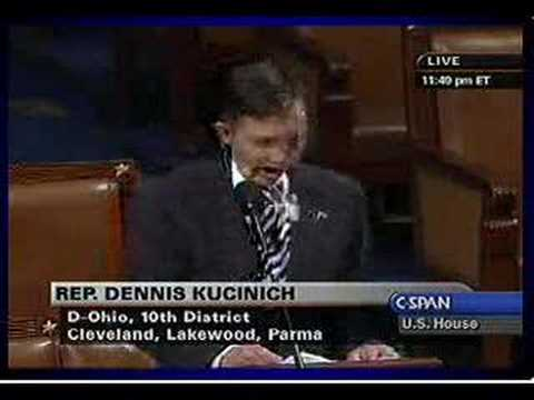 Kucinich: Articles of Impeachment 30.
