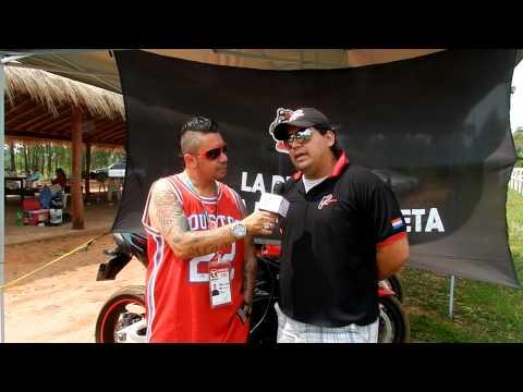 2 Ruedas MC PY. Entrevista de Dj MaoMix en el encuentro de motores.com.py en Caaguazu