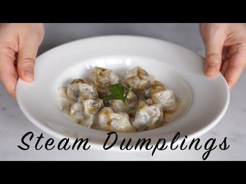 how to make  vegan dumpling for REAL FOOD in Singapore