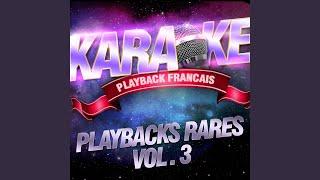 Pour toi qui dors (Karaoké playback instrumental) (Rendu célèbre par Richard Anthony)