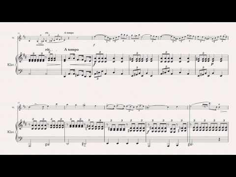 Paganini, N. - Cantabile - for Violin (orig.) & Piano (simplified) (dumb-it-down.com)