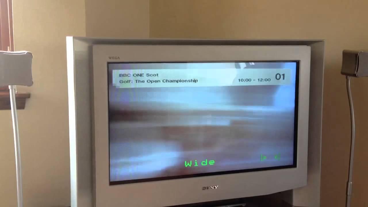 sony wega 32 flatscreen youtube