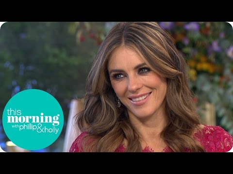 Elizabeth Hurley Talks Breast Cancer Awareness And The Royals  This Morning