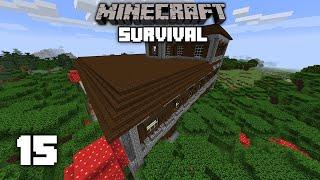 Minecraft: WOODLAND MANSION RAID! - 1.15 Survival Let's play | Ep 15