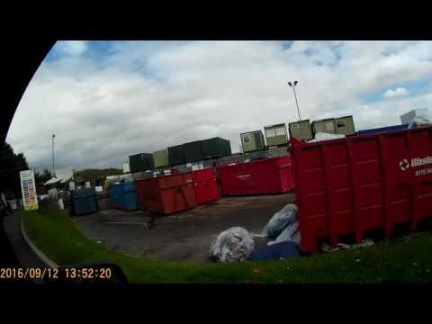 DIY: Hippobag Megabag V Skip; Trip To My Local Tip (Waste And Recycling Centre)