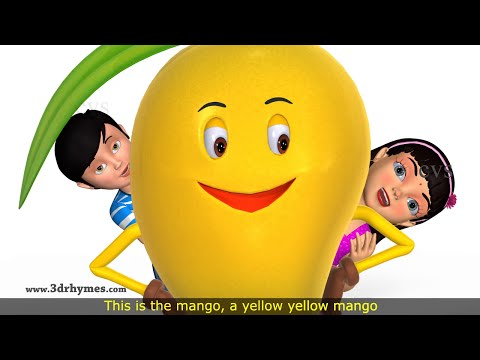 Mango Song & Eat Your Food Song - 3D Animation Nursery Rhyme for Children