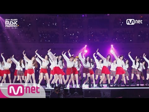 [2017 MAMA in Japan] CHUNG HA&Weki Meki&PRISTIN&fromis_9&Idol School Class 1&AKB48_Pick Me