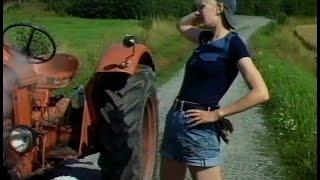 Traktori rikki | Valio piimä arkistomainos