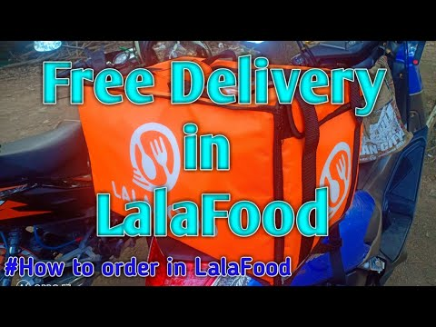 FREE DELIVERY. FREE COUPON CODE.  Step by step on how to order in LalaFood . #Lalafood #BuhayRider