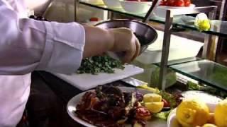 Moroccan and Greek Signature main courses - Gordon Ramsay